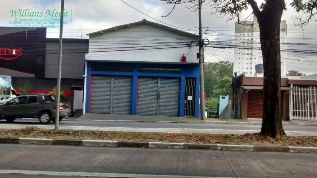 Salão para alugar, 127 m² por R$ 1.500,00/mês - Vila Augusta - Guarulhos/SP