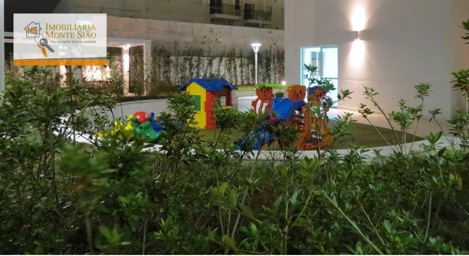 Apartamento com 2 dormitórios à venda, 59 m² por R$ 276.000 - Jardim Imperador - Guarulhos/SP