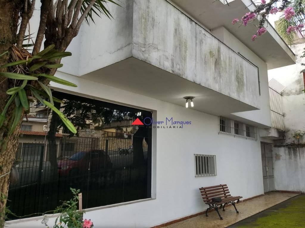 Sobrado com 4 dormitórios para alugar, 379 m² por R$ 8.900,00/mês - Vila Campesina - Osasco/SP