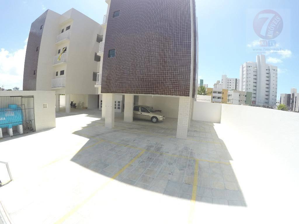Apartamento residencial à venda, Bessa, João Pessoa - AP0371