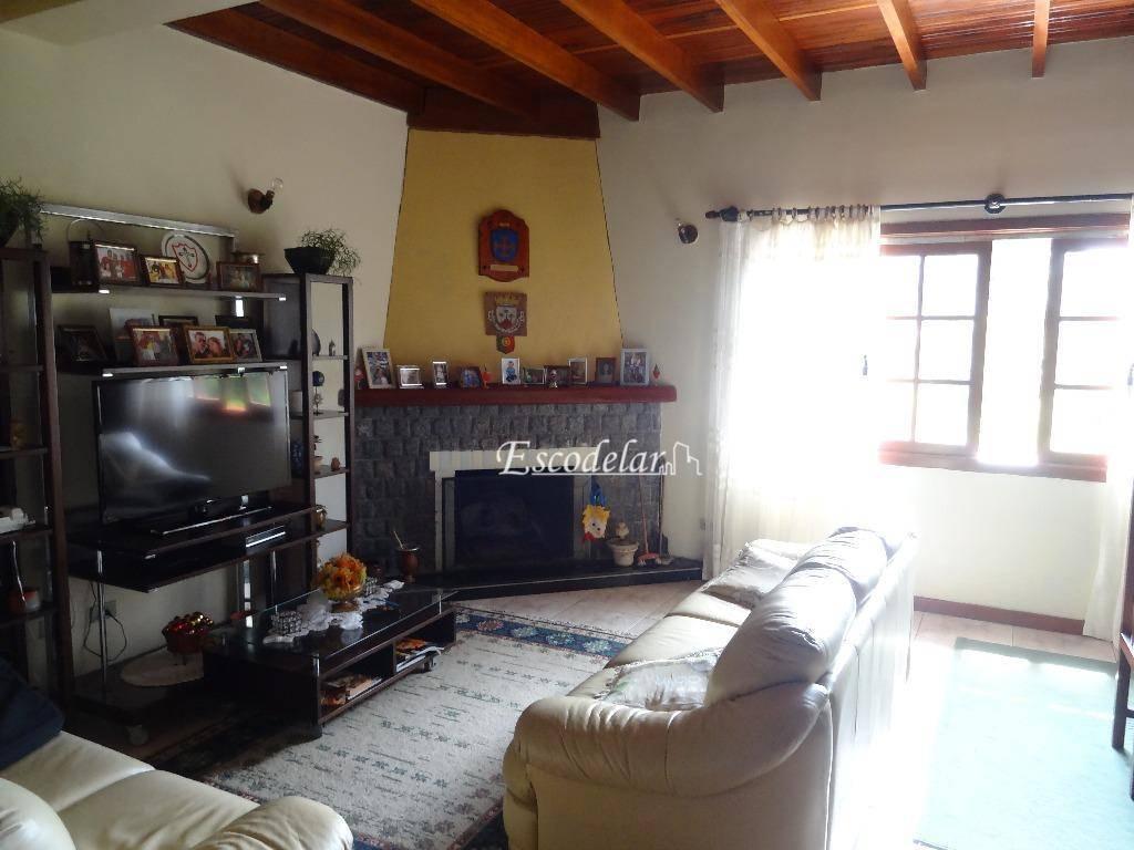 Sobrado residencial à venda, Serra Azul, Campos do Jordão.
