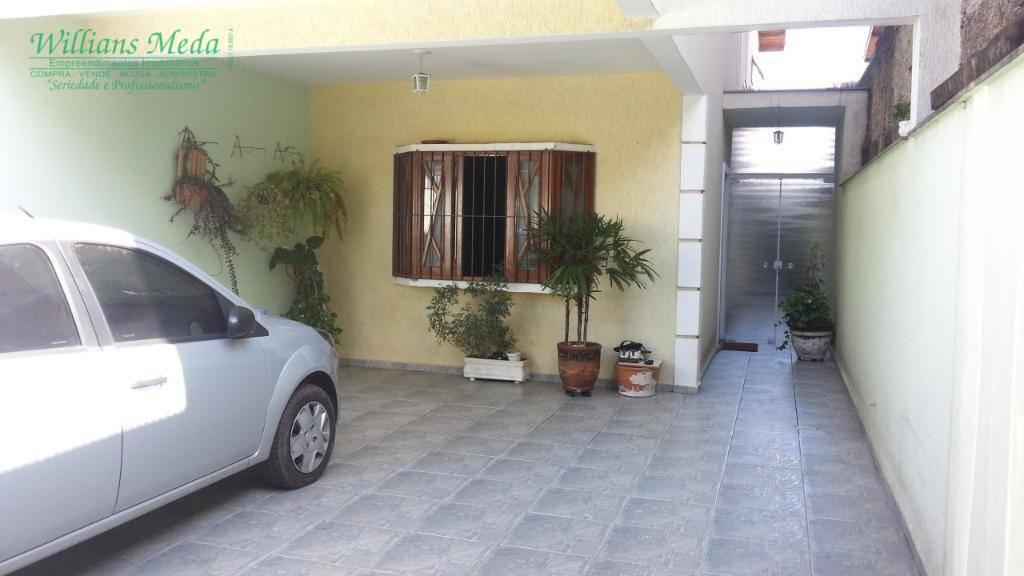 Sobrado à venda, 140 m² por R$ 480.000,00 - Jardim Santa Clara - Guarulhos/SP