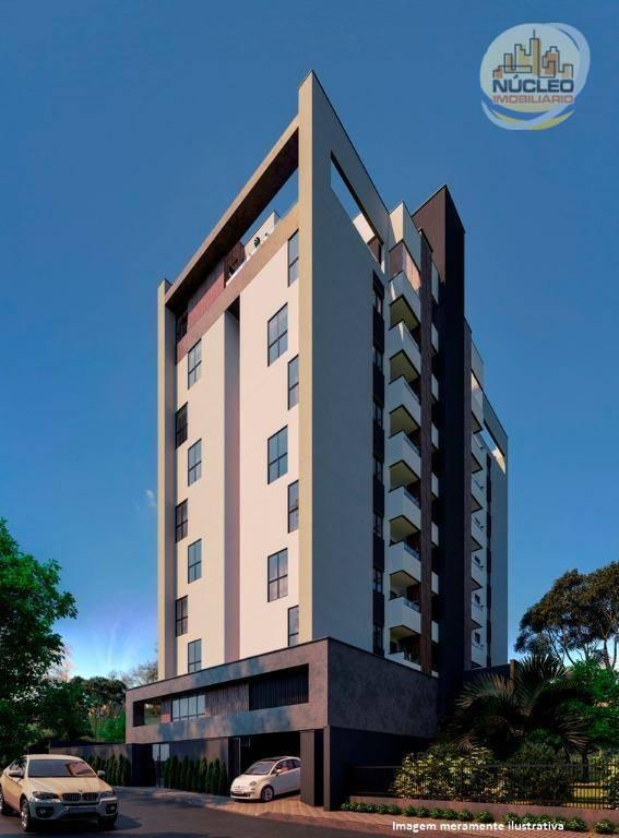 Apartamento com 3 Dormitórios à venda, 94 m² por R$ 343.375,05