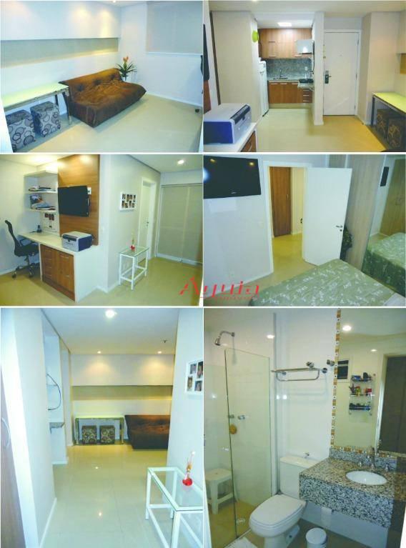 Flat residencial à venda, Centro, Santo André - FL0001.