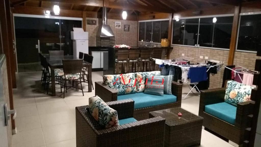 Cobertura com 2 dormitórios à venda, 80 m² por R$ 549.000 - Vila Camilópolis - Santo André/SP
