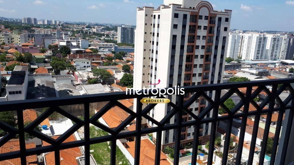 Apartamento com 3 dormitórios à venda, 98 m² por R$ 630.000 - Santo Antônio - São Caetano do Sul/SP