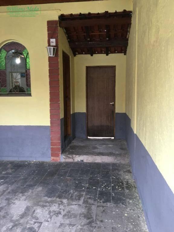Casa residencial à venda, Jardim Santa Cecília, Guarulhos - CA0087.