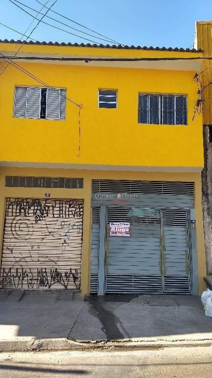 Casa residencial para locação, Jardim São Domingos, Guarulho
