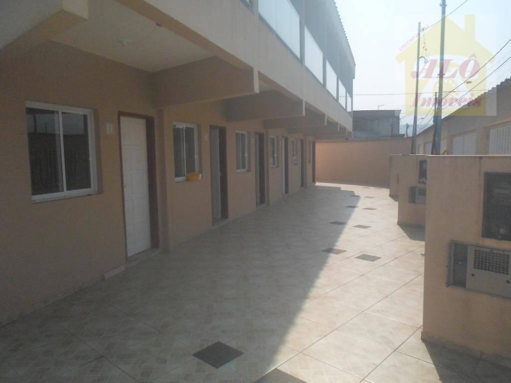Sobrado com 2 dormitórios à venda, 65 m² por R$ 170.000,00 - Balneário Esmeralda - Praia Grande/SP