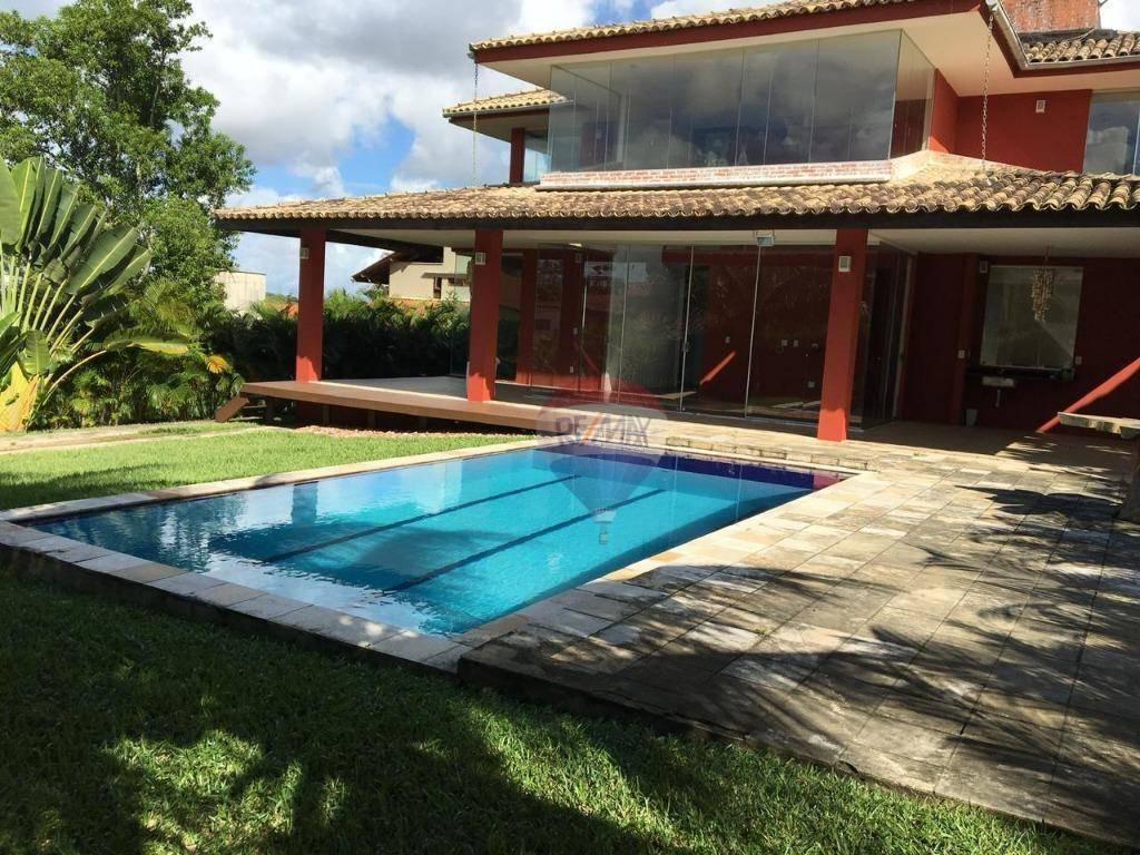 Casa com 4 dormitórios à venda, 238 m² por R$ 750.000 - Aldeia - Camaragibe/PE