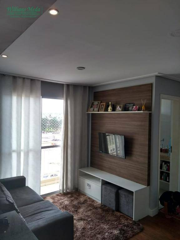 Apartamento com 2 dormitórios à venda, 54 m² por R$ 200.000 - Vila das Nações - Ferraz de Vasconcelos/SP