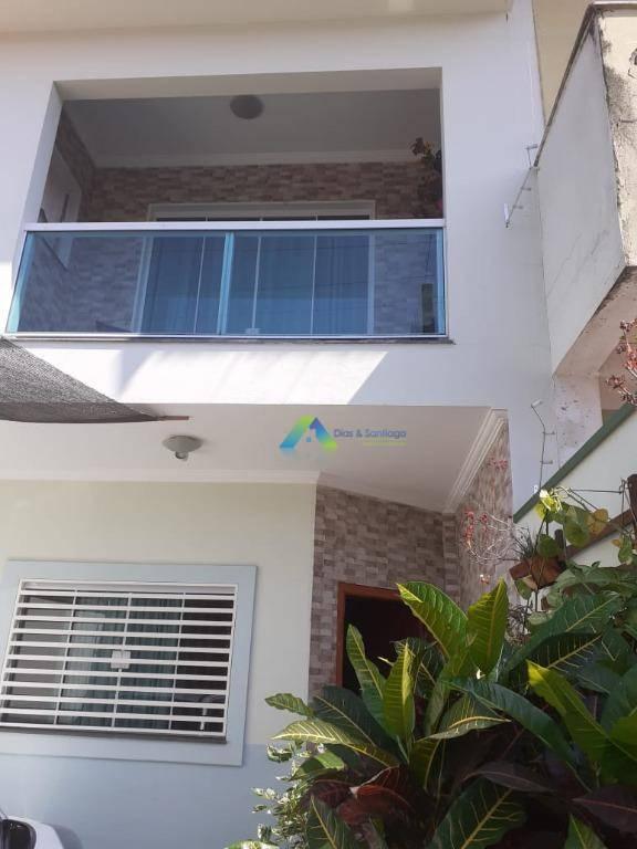 Sobrado com 3 dormitórios à venda, 122 m² por R$ 375.000,00 - Altos de Sumaré - Sumaré/SP