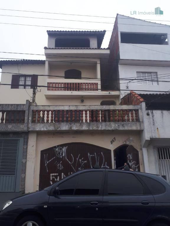 Casa Sobrado 4 Quartos e 3 Vagas Santo André - SP / Parque Gerassi  Casa Sobrado 3 pavimentos