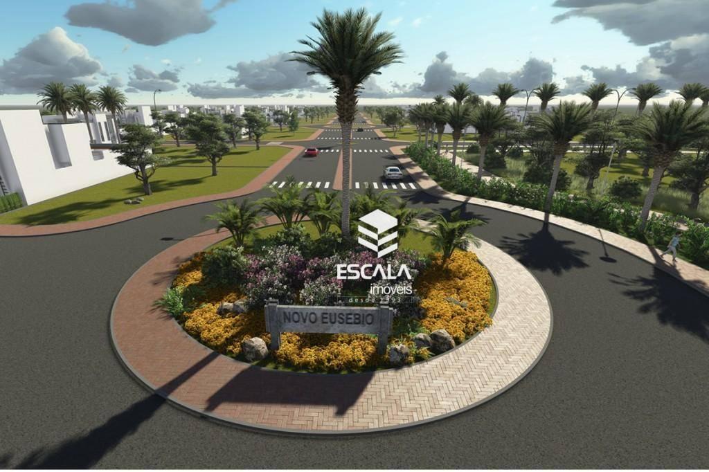 Terreno à venda, 150 m² por R$ 50.000,00 - Centro - Eusébio/CE