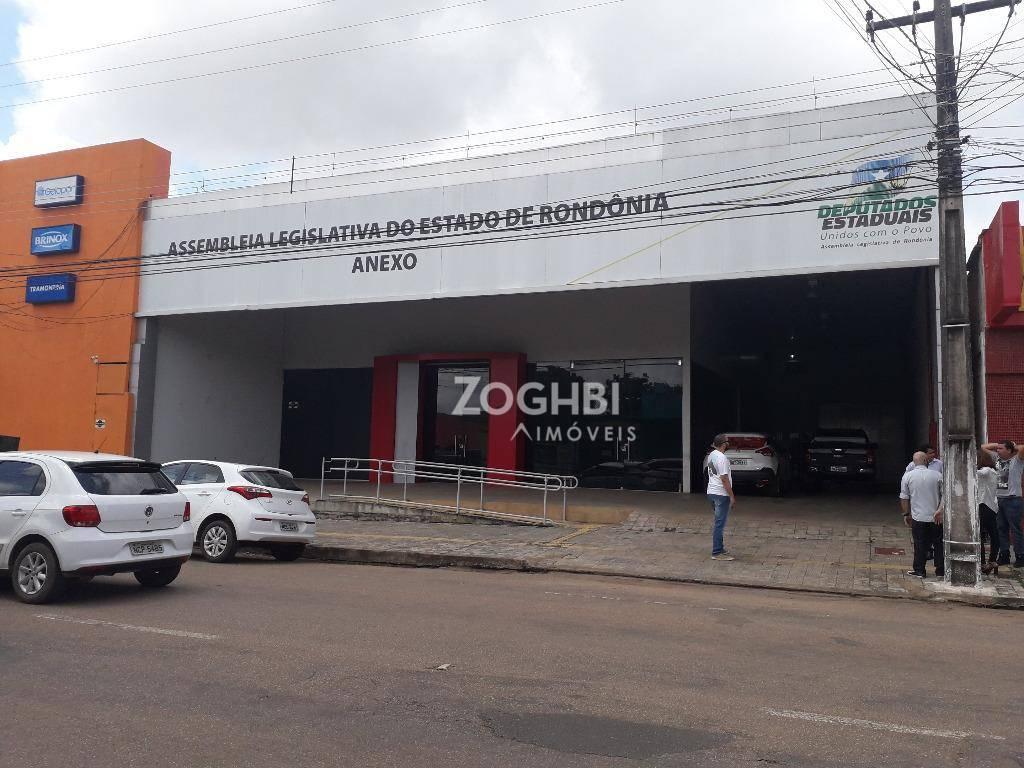 Prédio para alugar, 1220 m² por R$ 35.000/mês - São Cristóvão - Porto Velho/RO