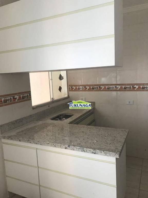 Apartamento com 1 dormitório para alugar, 34 m² por R$ 850/mês - Jardim Guimarães - Guarulhos/SP
