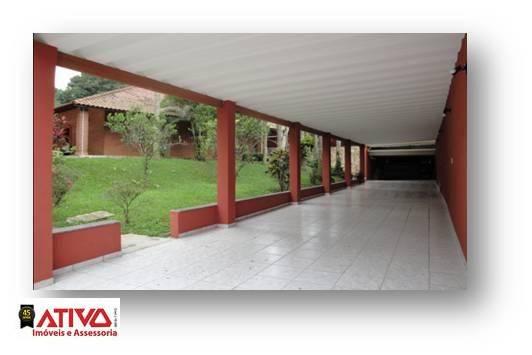 Chácara com 2 dormitórios à venda, 2200 m² por R$ 800.000,00 - Parque Pouso Alegre (Ouro Fino Paulista) - Ribeirão Pires/SP