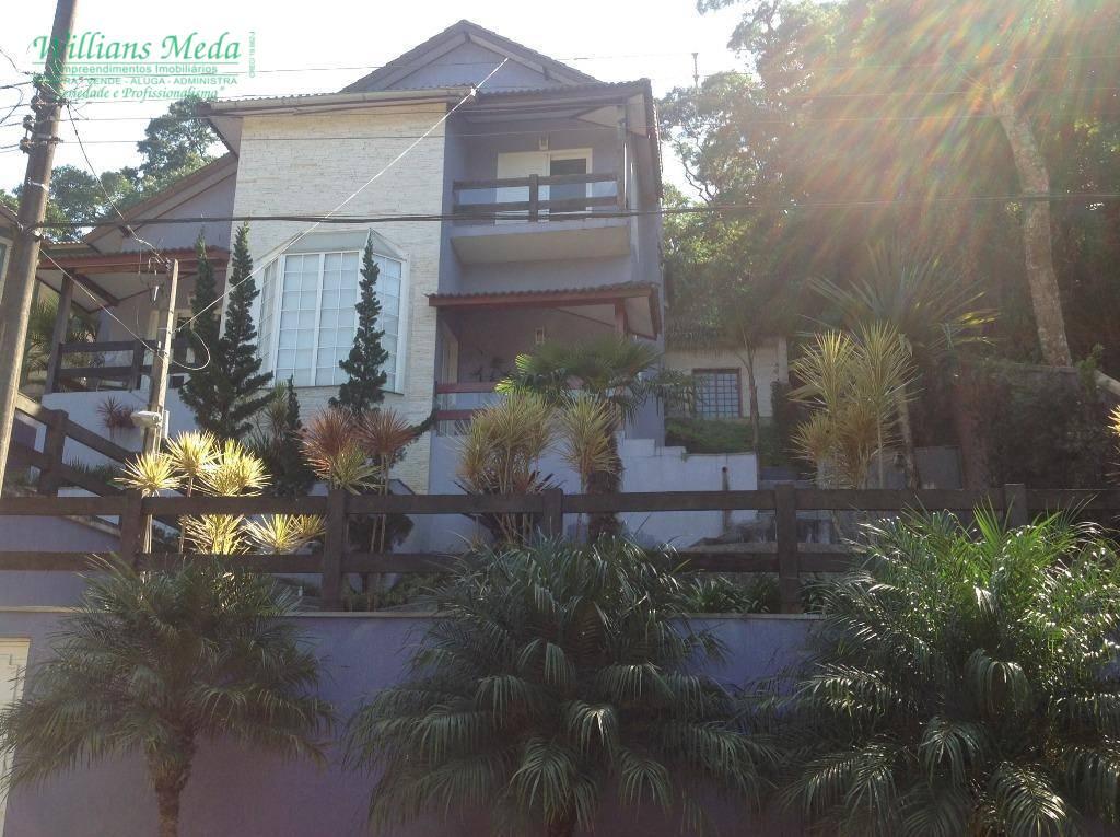 Sobrado com 3 suítes à venda, 290 m² por R$ 1.000.000 - Serra da Cantareira - /SP