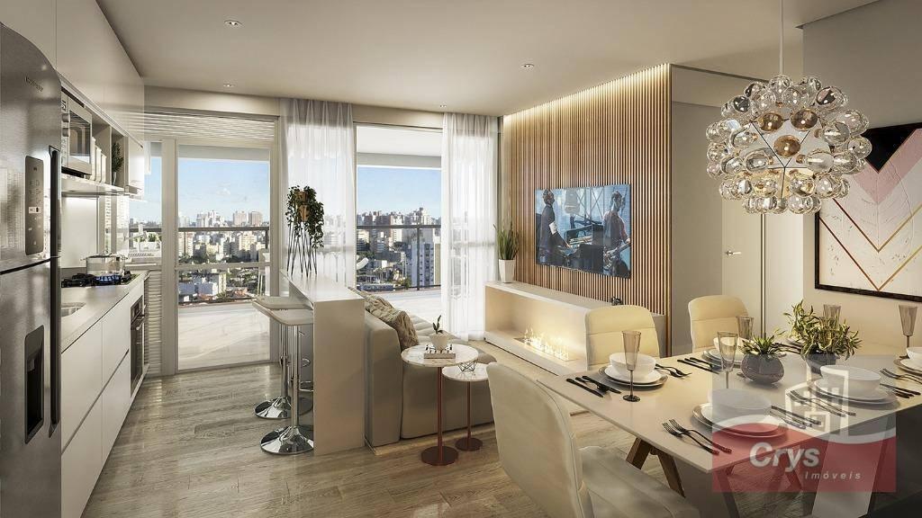 Apartamento com 3 dormitórios à venda, 106 m² por R$ 1.210.000 - Vila Anglo Brasileira - São Paulo/SP