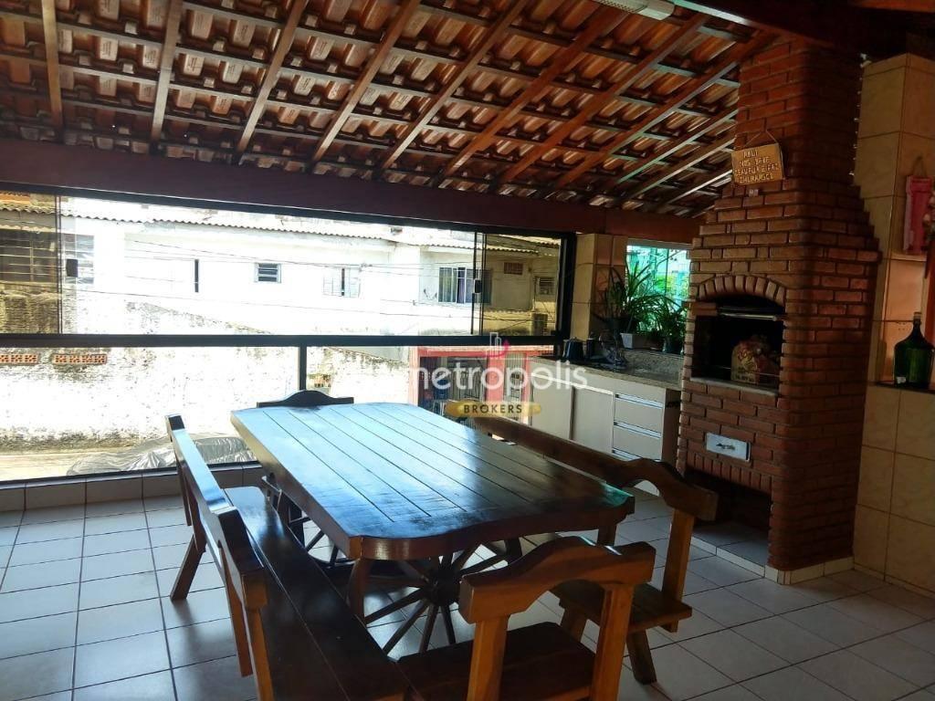 Casa à venda, 122 m² por R$ 520.000,00 - Taboão - Diadema/SP