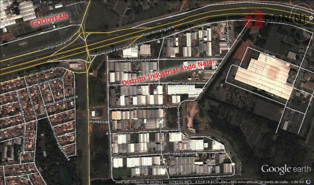Terreno, Distrito Industrial Abdo Najar, Americana (TE0043)