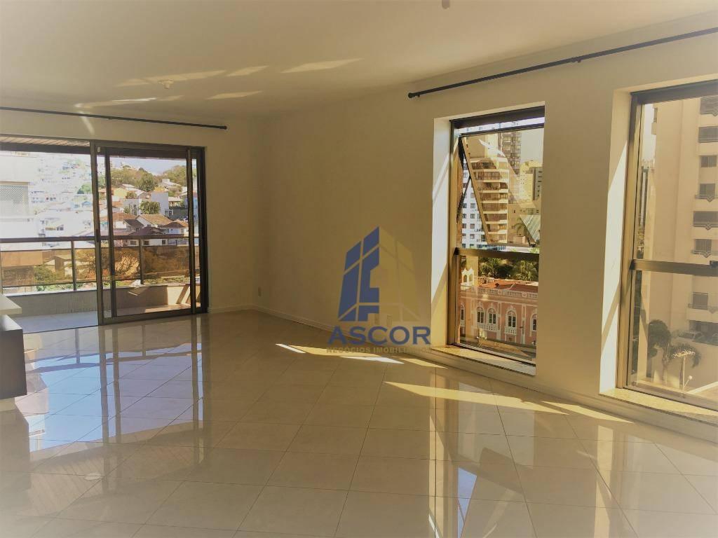 Apartamento com 3 dormitórios para alugar, 173 m² por R$ 4.100,00/mês - Agronômica - Florianópolis/SC