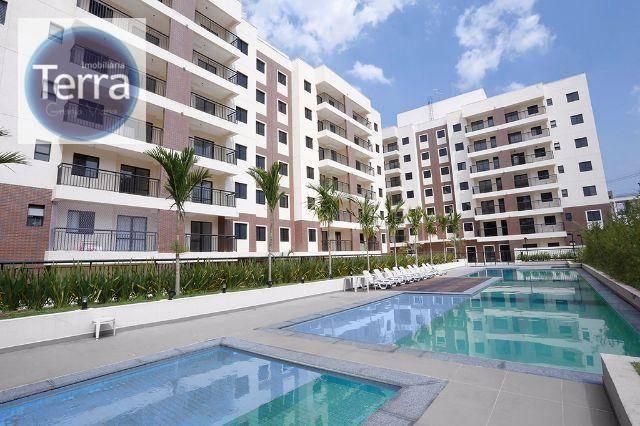 Apartamento com 3 dormitórios à venda, 72 m²  - Estilo Club Granja Viana - Granja Viana