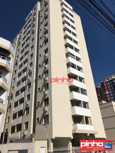 Apartamento com 1 dormitório para alugar, 38 m² por R$ 700/mês - Campinas - São José/SC