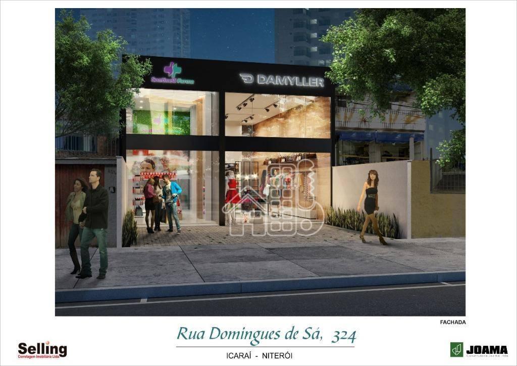 Loja para alugar, 130 m² por R$ 9.000,00/mês - Icaraí - Niterói/RJ