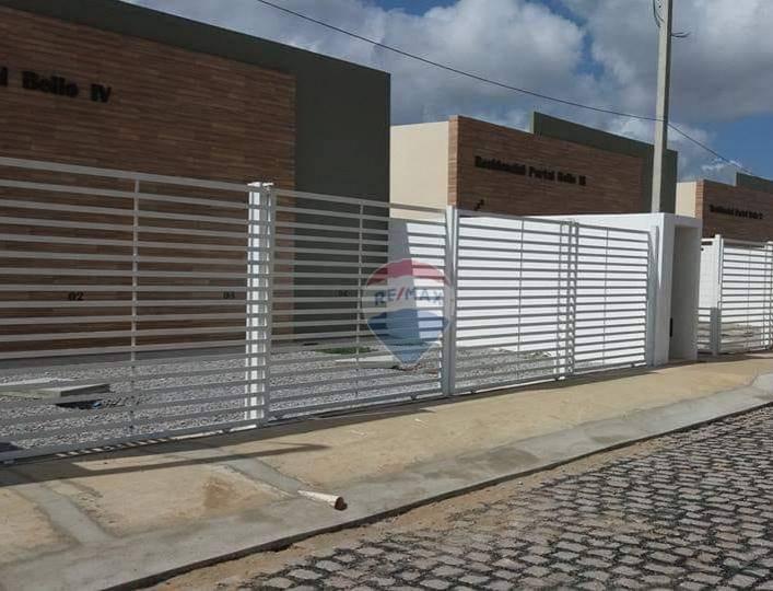 Casa com 2 dormitórios para alugar, 53 m² por R$ 400/mês - Pirangi de Dentro - Parnamirim/RN