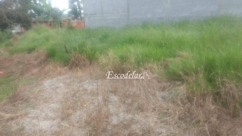 Terreno à venda, 250 m² por R$ 75.000,00 - Conjunto Residencial Santo Ângelo - Mogi das Cruzes/SP