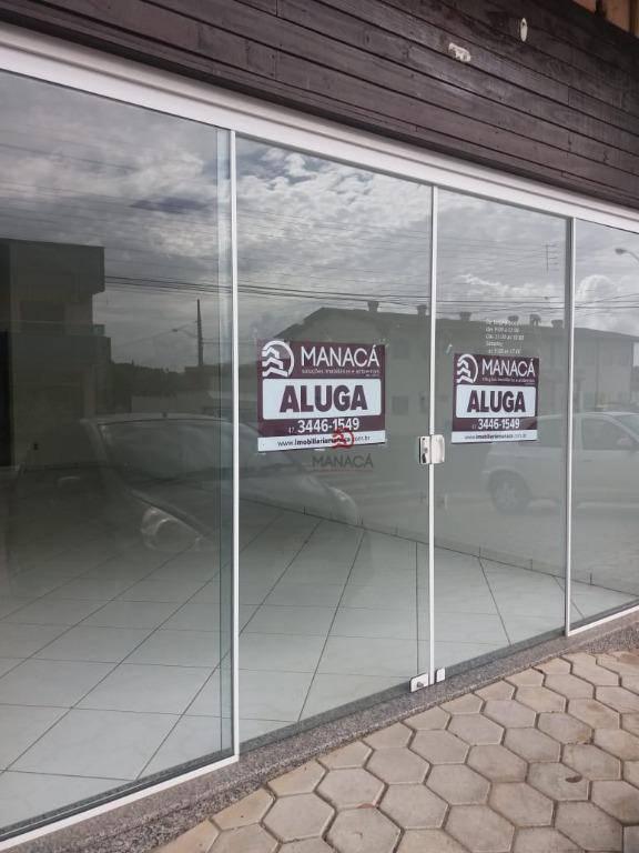 Sala para alugar, 40 m² por R$ 815/mês - Jardim Icaraí - Barra Velha/SC