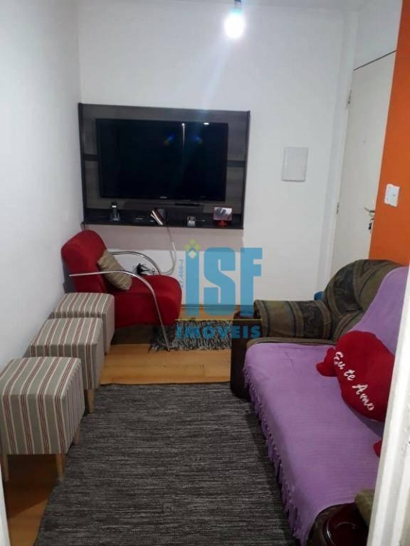 Apartamento com 3 dormitórios à venda, 52 m² por R$ 195.000 - Piratininga - Osasco/SP - AP24571.