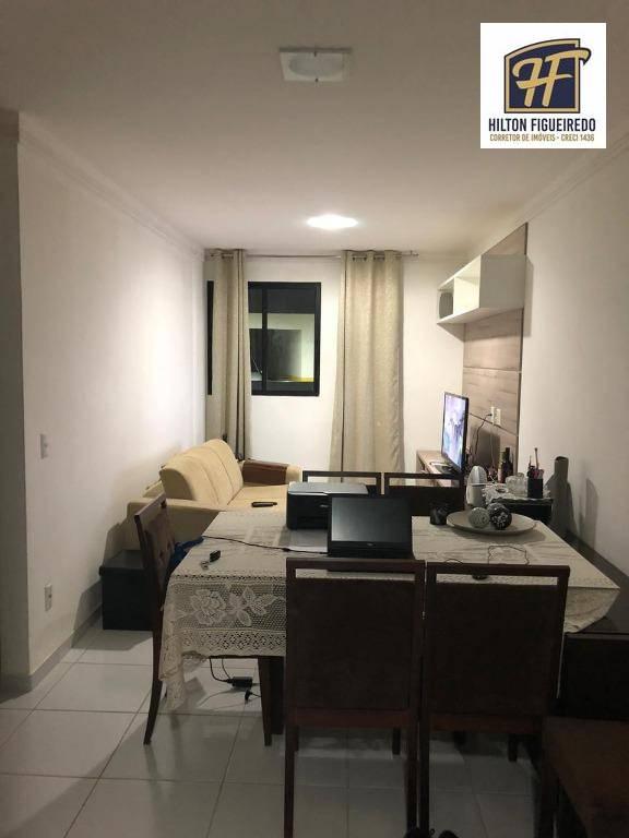 Apartamento com 2 dormitórios à venda, 58 m² por R$ 185.000,00 - Aeroclube - João Pessoa/PB