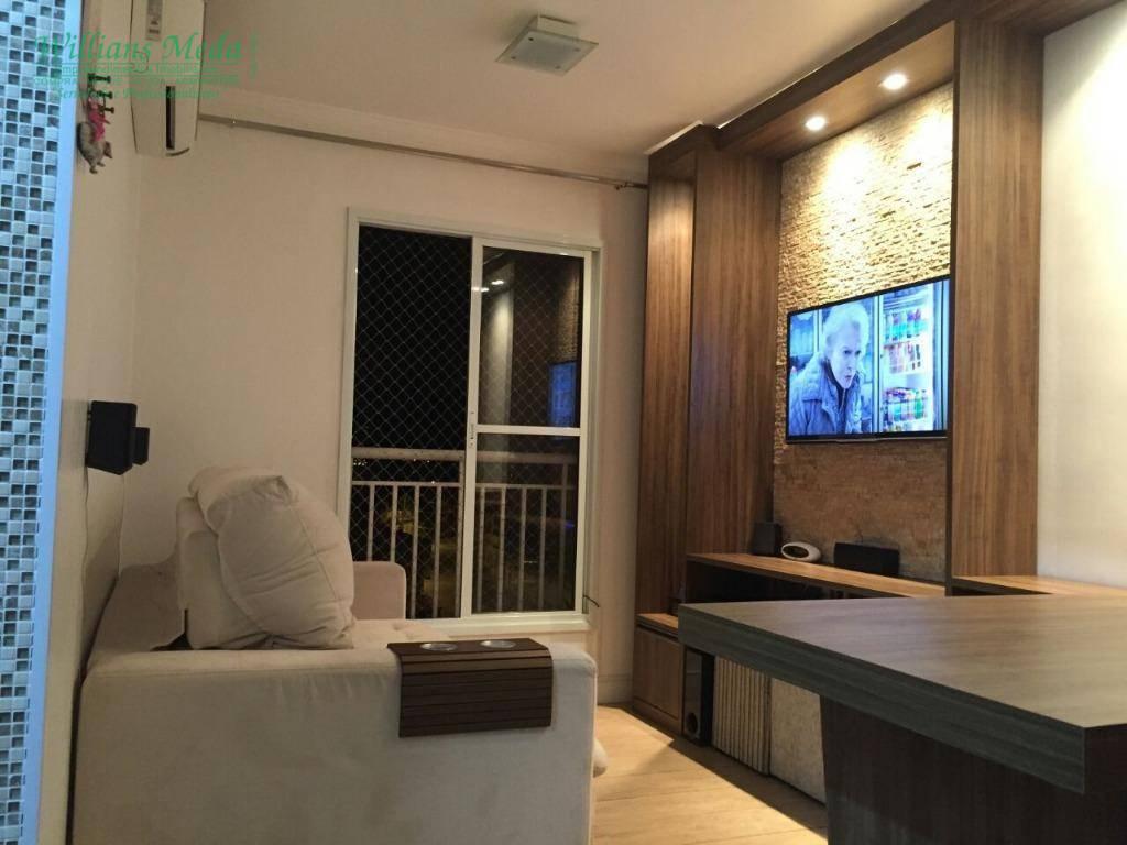 Apartamento residencial à venda, com 2 dormitórios, Vila Fló