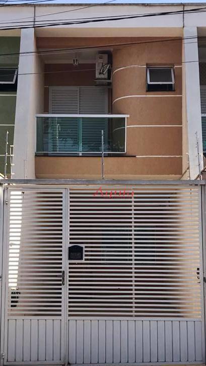 Sobrado residencial à venda, Parque Novo Oratório, Santo André - SO0871.
