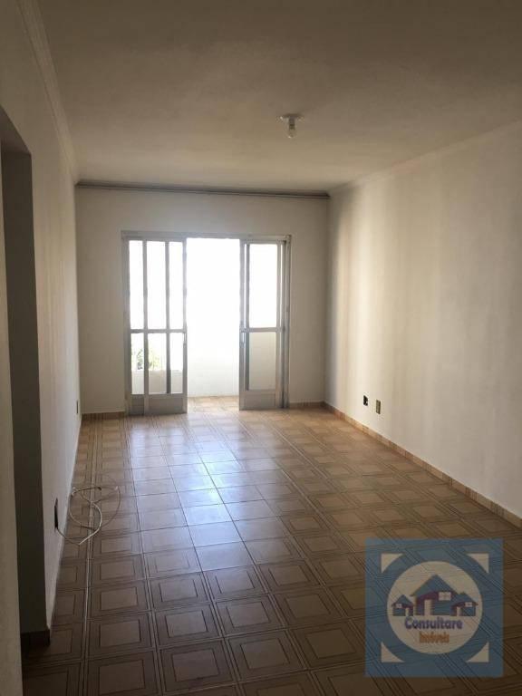 Apartamento com 2 dormitórios para alugar, 92 m² por R$ 2.000/mês - Itararé - São Vicente/SP