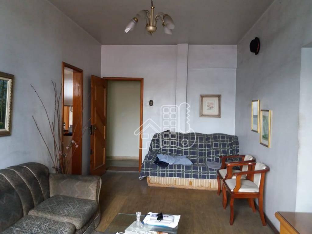 Apartamento com 2 dormitórios à venda, 129 m² por R$ 190.000 - Centro - São Gonçalo/RJ
