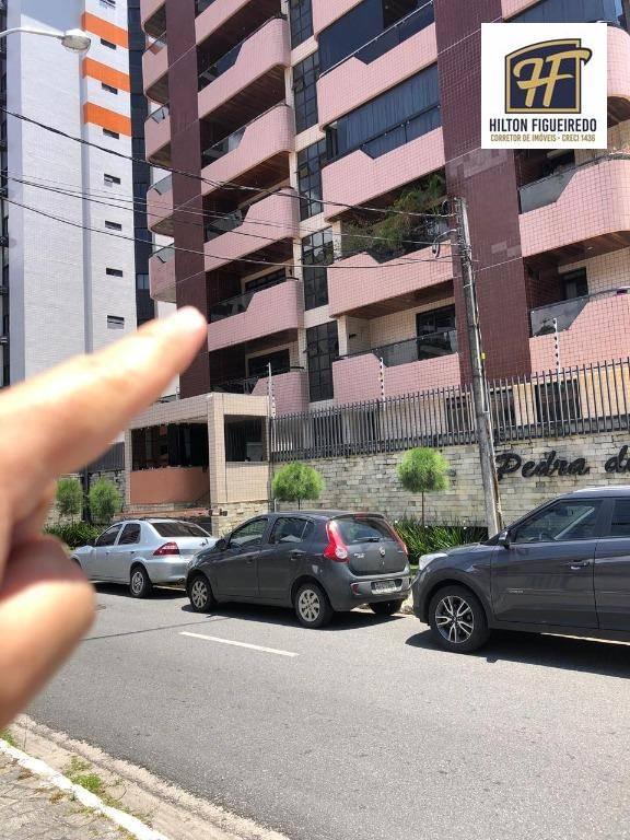 Apartamento com 3 dormitórios à venda, 110 m² por R$ 385.000,00 - Manaíra - João Pessoa/PB