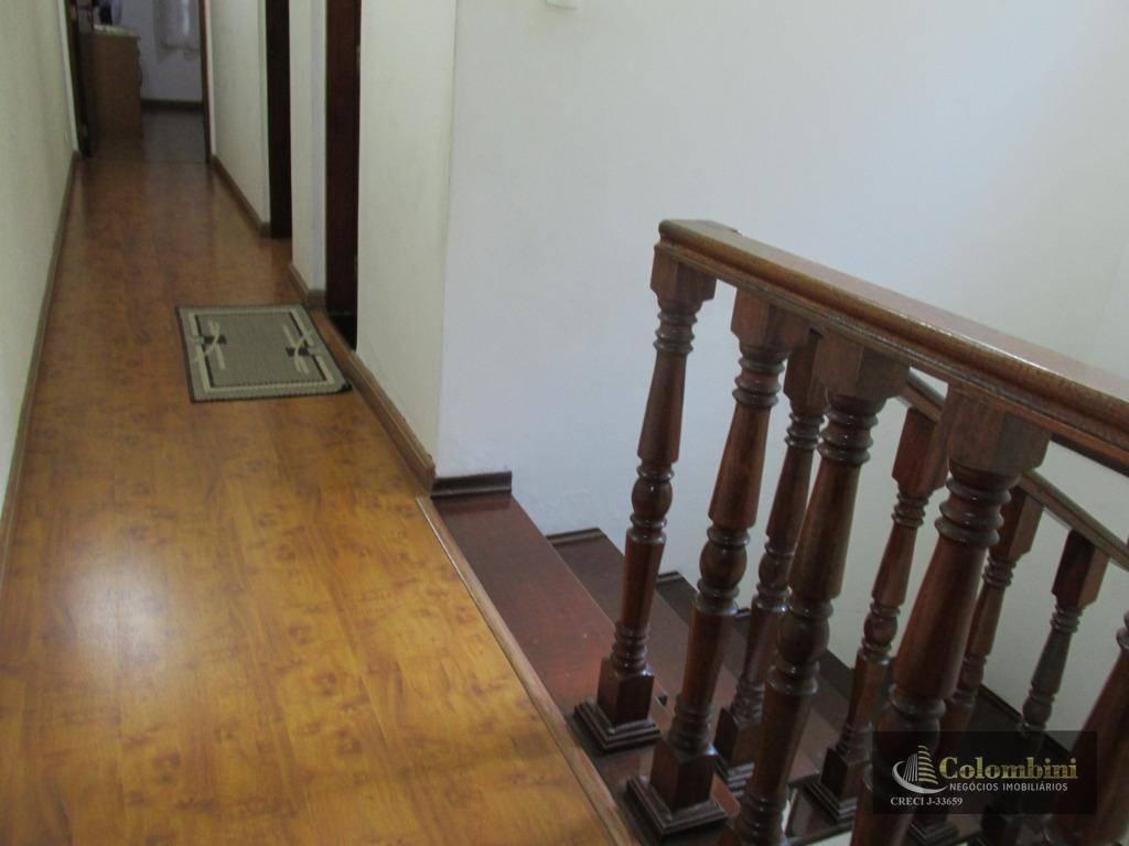 Sobrado com 3 dormitórios à venda, 170 m² por R$ 479.000 - Jardim Las Vegas - Santo André/SP