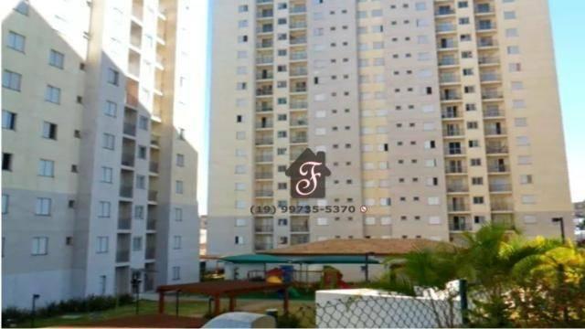 Apartamento com 2 dormitórios para alugar, 50 m² por R$ 1.400,00/mês - Vila Mimosa - Campinas/SP
