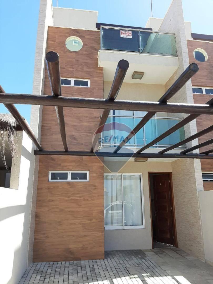 Casa com 3 dormitórios à venda, 124 m² por R$ 270.000,00 - Búzios - Nísia Floresta/RN