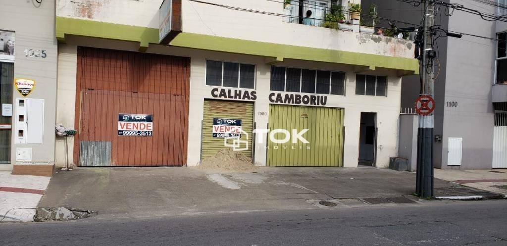 Loja térrea com excelente localização em Balneário Camboriú!!