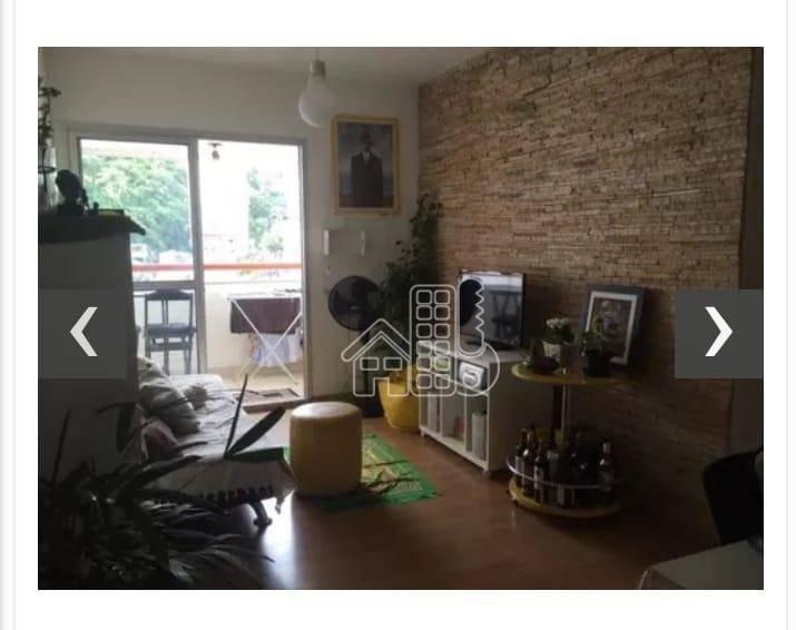 Apartamento com 3 dormitórios para alugar, 80 m² por R$ 1.800/mês