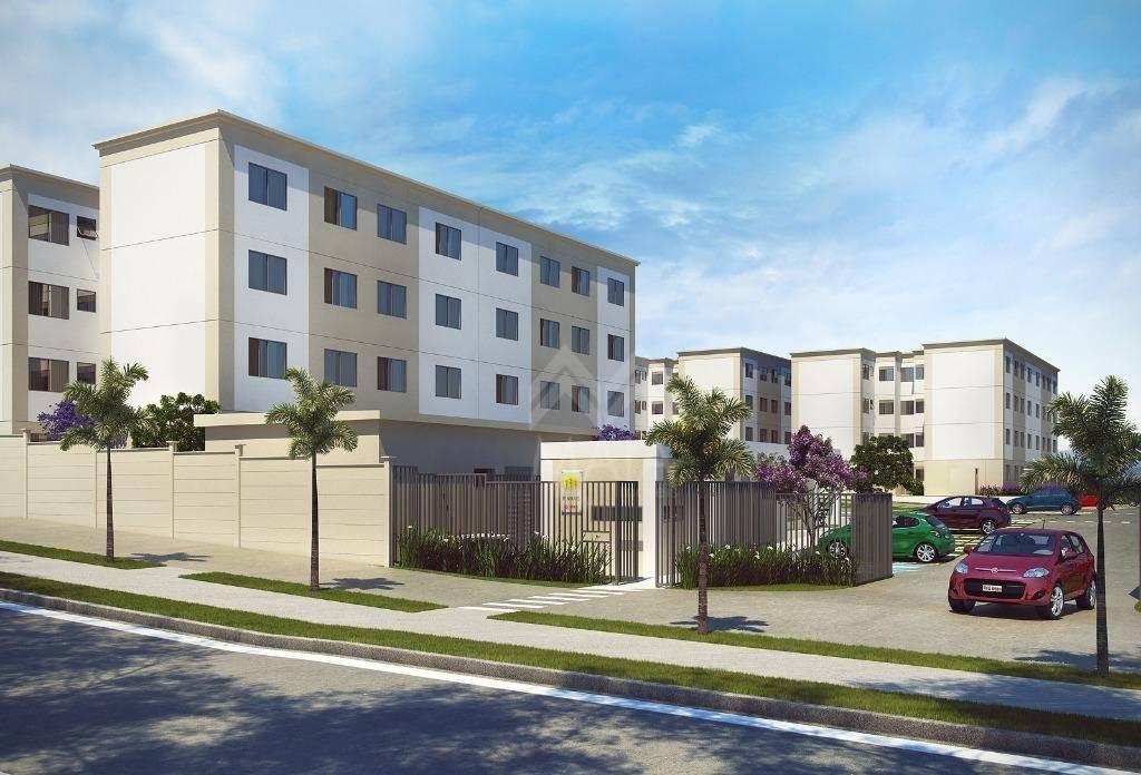 Apartamento residencial à venda, Colônia Rio Grande, São Jos