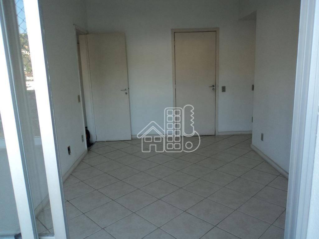 Apartamento com 2 dormitórios para alugar, 65 m² por R$ 1.350/mês - Santa Rosa - Niterói/RJ
