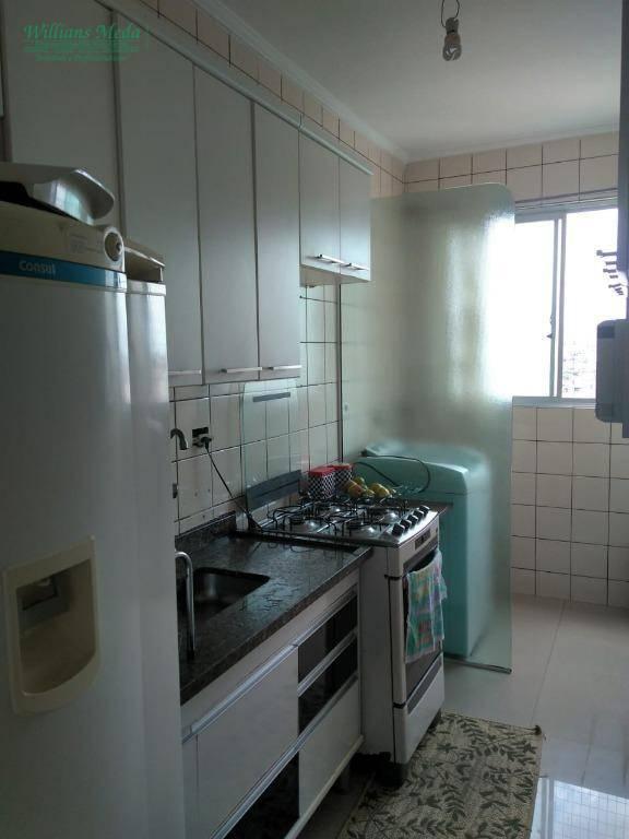 Apartamento com 2 dormitórios à venda, 57 m² por R$ 255.000 - Picanco - Guarulhos/SP
