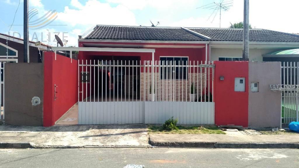 Casa residencial à venda, Quississana, São José dos Pinhais.