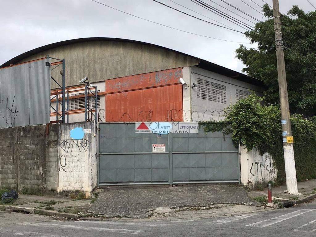 Galpão para alugar, 1161 m² por R$ 23.000/mês  Rua Francisco Diogo de Assis Vasconcelos, 479 - Jardim Piratininga - Osasco/SP