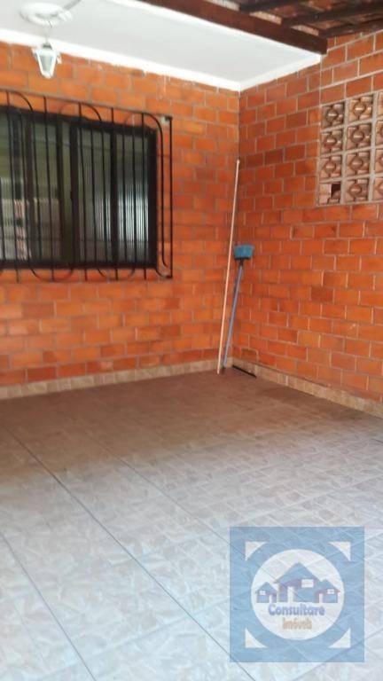 Casa com 2 dormitórios para alugar, 69 m² por R$ 1.300/mês - Vila Voturua - São Vicente/SP